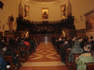 Concerto in S. Maria degli Angeli del Coro della Fondazione Bartolucci. Dir. M° Mons. Domenico Bartolucci