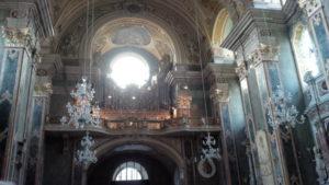 L'organo Pirchner del Duomo di Bressanone (21 luglio).