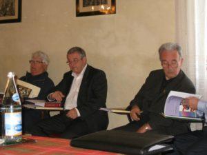 Alcuni partecipanti durante le conferenze.