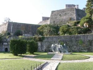 Corfù, 15 novembre 2010 La Fortezza Nuova.