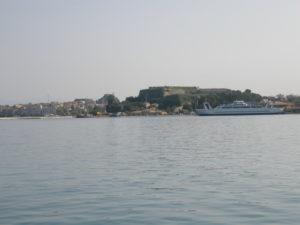 Corfù, 15 novembre 2010 Salpando verso Malta.