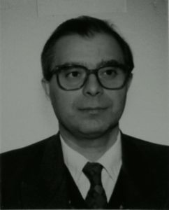 M° Enrico Battistoni <br> Dir. Segr. Istituti Diocesani Musica Sacra 1995-1996