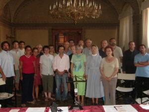 I partecipanti al corso e i docenti.