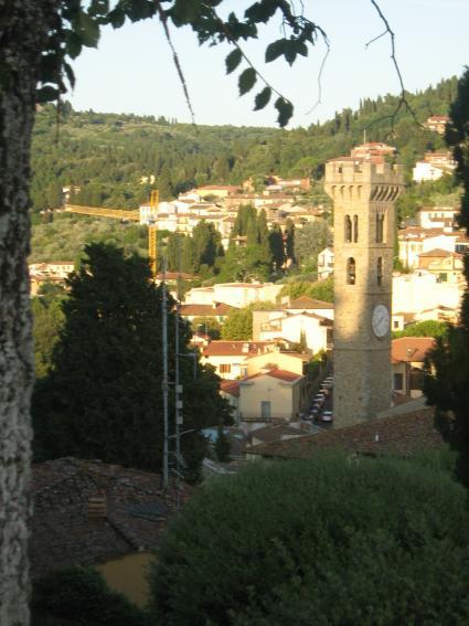 Panorama di Fiesole.