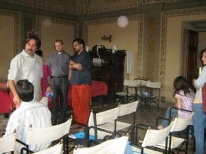Alcuni dei partecipanti al corso (con il M° Walter Marzilli, docente del corso).