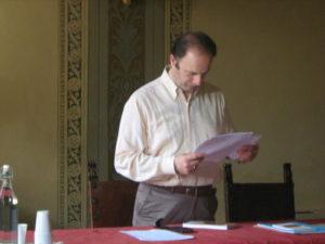 Il M° Michele Manganelli, docente del corso.