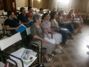 Alcuni partecipanti al corso.