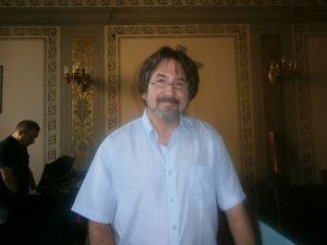 Il M° Walter Marzilli, docente del corso.