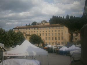 Il Seminario vescovile di Fiesole, sede del corso.