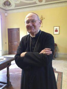 Il Presidente emerito S.E. Mons. Vasco Bertelli.