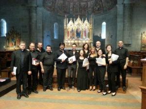 I partecipanti al corso al termine della Celebrazione Eucaristica.
