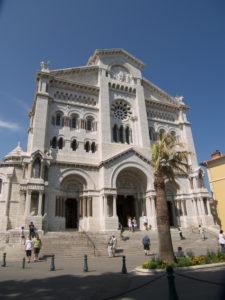 La cattedrale di Monaco-Montecarlo (23 luglio).