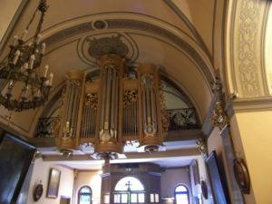 L'organo della Chappelle Sainte Devote, Monaco-Montecarlo (23 luglio).