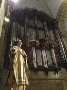 L'organo di Roquevaire (25 luglio).