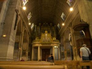 L'organo della Collégiale Saint Martin, Saint Rémy de Provence (25 luglio).