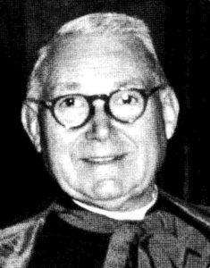 Mons. Higini Anglès Pàmies Presidente A.I.S.C. 1949-1951