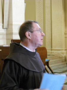 Il M° p. Olivo Damini, docente del corso.