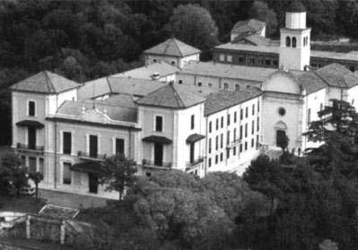 Villa San Fermo a Lonigo, sede del corso.