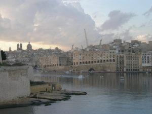 Malta, 16 novembre 2010 Arrivo a La Valletta al sorgere del sole.