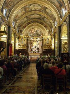 Malta, 16 novembre 2010 La Valletta, concattedrale di San Giovanni. Alcuni momenti del concerto