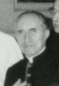 M° Mons. Mario Vieri <br>Segretario Generale 1968-1972