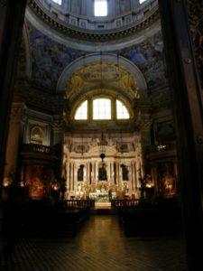 Napoli, 17 novembre 2010 Cattedrale, la cappella di San Gennaro.