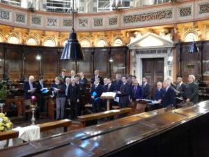 Il coro guida del Duomo di Padova.