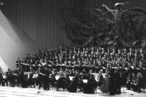 Aula Paolo VI - Vaticano: Concerto delle corali toscane ed Orchestra S. Cecilia Ensemble (24 Novembre 2006).