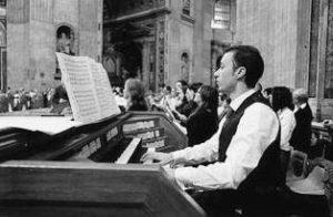 Basilica S. Pietro - Vaticano, Celebrazione Eucaristica. Il maestro S. Manfredini all'organo (11 Novembre 2012).