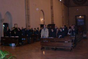 Celebrazione Eucaristica in S. Chiara.