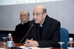 Saluto di S.E. Mons. Giuseppe Chiaretti, Arcivescovo emerito di Perugia - Città della Pieve.