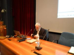 Prof. Giacomo Baroffio, già Preside del PIMS di Roma.