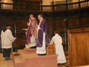 Celebrazione Eucaristica in S. Maria degli Angeli, presiede S.E. Mons. Luciano Giovannetti, Vescovo emerito di Fiesole.