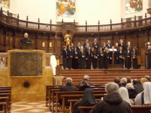 Elevazione musicale dei 'Laudesi Umbri' di Spoleto, dir. m° padre Antonio Giannoni.