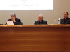 S.E. Mons. Marcello Semeraro, Vescovo di Albano, Presidente della Commissione Episcopale per la Dottrina della Fede, l'annuncio e la catechesi; Membro della Congregazione delle Cause dei Santi.