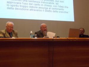 Prof. dr. Franz Karl Prassl, Presidente Osterreichische Kirckenmusikkommission ACV, Docente al Pontificio Istituto di Musica Sacra di Roma.