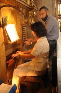 Il M° Gianola illustra l'organo Piaggia (23 luglio).