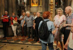 I partecipanti a San Zaccaria (24 luglio).