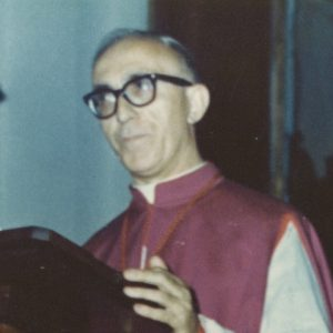 S. E. Mons. Angelo Martinelli Presidente A.I.S.C. 1962