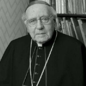 M° Mons. Domenico Bartolucci Dir. Segr. Compositori 1958