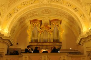 L'organo Pirchner della Georgskapelle (26 luglio).