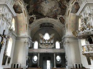 L'organo Reinisch della Basilica di Wilten (28 luglio).
