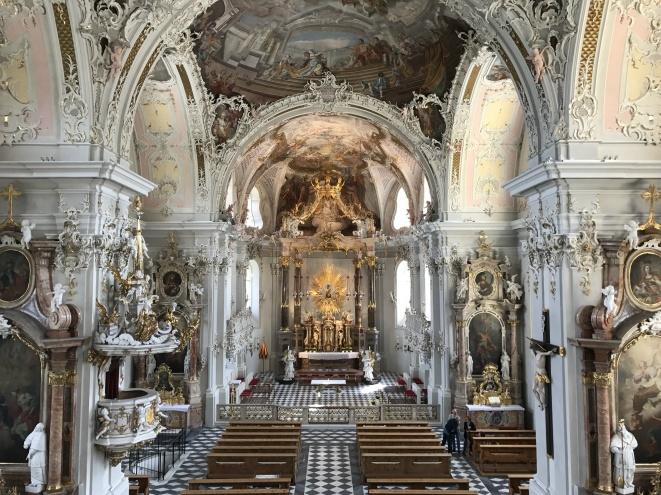 La Basilica di Wilten (28 luglio).