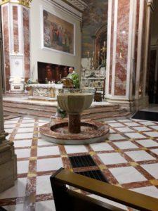 Alcuni momenti della Celebrazione Eucaristica.