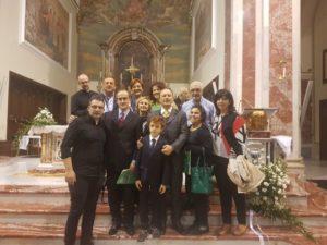Alcuni partecipanti al Convegno con S.E. Mons. Camillo Cibotti.
