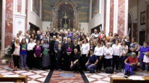 Alcuni cantori partecipanti al Convegno.