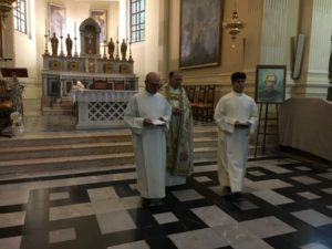 Un momento delle Celebrazioni liturgiche.
