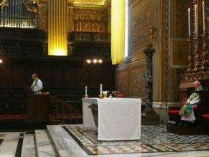 Alcuni momenti della Celebrazione Eucaristica, presieduta da S.Em. Card. Brandmüller.