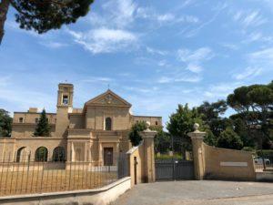 Il Pontificio Istituto di Musica Sacra, sede del corso.