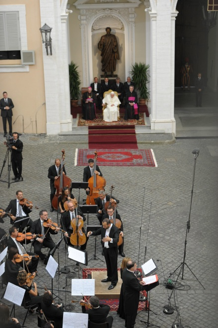 Castel Gandolfo - Un momento del concerto